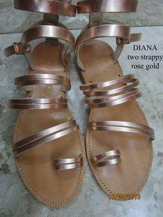 Women Sandals,Women Strappy Sandals,Rose Gold Sandals for Women Rose Gold Sandals, Toe Ring Sandals, Toe Rings, Strappy Sandals, Leather Sandals, Women Sandals, Wedge Wedding Shoes, Sandals Wedding, Shops
