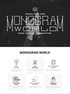Monogram World @creativework247