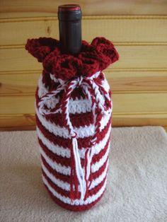 Crochet Wine Bottle Cover - Bing Images
