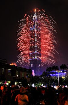 Taipei 101 New Year Fireworks 2013 by EpicFireworks