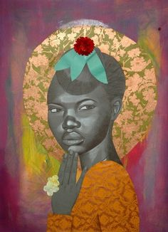 AphroChic: Portraits Of A Memory. Artist Jamea Richmond-Edwards.