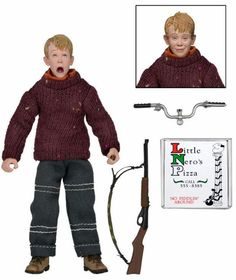NEW NECA Home Alone Kevin 6-Inch Retro Action Figure Neca Clothed McCallister  #HomeAlone