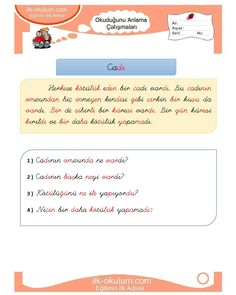 Learn Turkish, Primary School, Homework, Education, Learning, Travel, Time Activities, Free Time, Wonderland