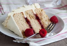 Raspberry Earl Grey Cake Earl Grey is the cake flavor you didn't know your life was missing.