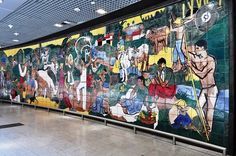 Murales dell'Aeroporto Internacional dos Guararapes - Francisco Brennand