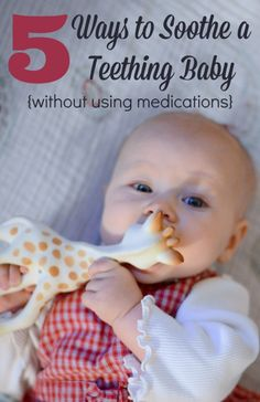 Great ideas for teething!