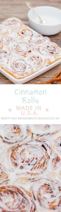 Für euch habe ich das Cake Boss-Rezept für Cinnamon Rolls übersetzt, nachgebacken und ein bisschen angepasst. Die Zimtschnecken sind wirklich köstlich :-)