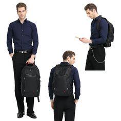 Amazon.com: Kingsons 15.6 inches City Elite Bag Designer Laptop Backpack…