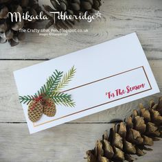 Mikaela Titheridge, Independent Stampin' Up! Demonstrator, The Crafty oINK Pen…
