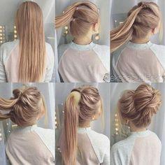 hair up for work \ hair updos . hair updos for medium hair . hair up . hair updos for long hair . hair up for work . hair updos for weddings Messy Bun Hairstyles, Trendy Hairstyles, Nurse Hairstyles, Hairstyles For Working Out, Casual Hairstyles For Long Hair, Homecoming Hairstyles, Beautiful Hairstyles, Easy Bun Hairstyles For Long Hair, Casual Updos For Medium Hair