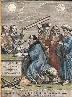 Joannes Luyts: Astronomica Institutio Utrecht 1692
