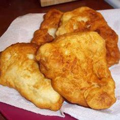 NAVAJO FRY BREAD.       Tried the Navajo version, it is EXCELLENT!