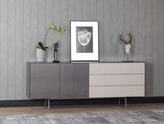 dressoir kast, dressoir modern, dressoir design, dressoir woonkamer | SONOROUS.NL Sideboard, Modern Design, Bookcase, Loft, Cabinet, Storage, Furniture, Home Decor, Modern