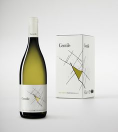Gentile Vini, Particella 417 on Packaging of the World - Creative Package Design Gallery Wine Label Design, Wine Packaging, Packaging Design Inspiration, Wines, Beverages, Creative Package, Graphic Design, Package Design, Wine Labels