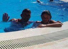 #me #alex #zwembad #vakantie #2013 #summer #super-zwembad!
