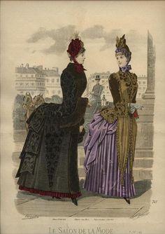 Le Salon de la Mode 1885
