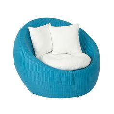 Inject colour into your outdoor living space with our blue Carlos Tub Chair $995