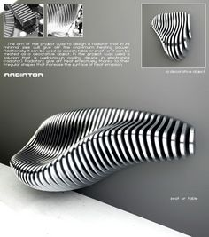 Radiators for interior design Parametrisches Design, Chair Design, Wall Design, Furniture Design, House Design, Parametric Architecture, Parametric Design, Interior Architecture, Interior Design