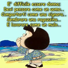 Mafalda and more… Gruseliger Clown, Mafalda Quotes, Game Of Thrones, Morning Mood, Act Like A Lady, Italian Quotes, Guys Be Like, Oscar Wilde, Betty Boop