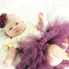 Our eggplant tutu is the perfect color for fall!  Use coupon code 2016JAZZYGTUTU for 15% off your order!!