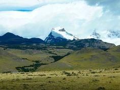 Hiking in the Patagonian area El #Chalten at Santa Cruz, #CerroSolo