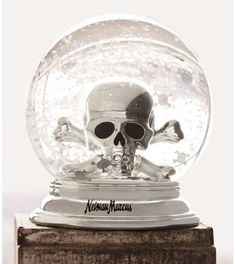 If only I could buy this! Apparently not for sale. I collect skull snowglobes but they are hard to find.