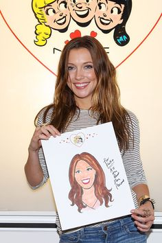 Comic-Con spotting: Katie Cassidy checks out MACs Archies Girls Collection