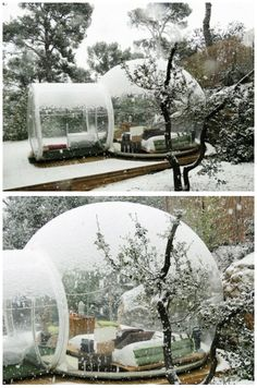 Bubble Tent. Is this for real?