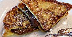 Υπέροχο Γαλλικό τοστ με νουτέλα από το Sintayes.gr ! Cookbook Recipes, Cooking Recipes, Nutella French Toast, Breakfast Snacks, Cupcake Cookies, Cupcakes, Sweet Recipes, Deserts, Food And Drink