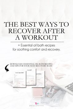 Fitness Motivation : Making time to recover is just as important as the workout itself. Holistic Wellness, Wellness Fitness, Fitness Tips, Fitness Motivation, Fitness Routines, Fit Board Workouts, Fun Workouts, Bath Recipes, Workout Essentials