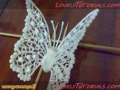 "Трафареты ""Бабочки"" -Butterfly templates - Мастер-классы по украшению тортов Cake Decorating Tutorials (How To's) Tortas Paso a Paso"
