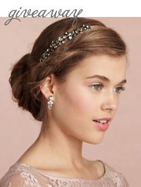 Style Unveiled - Style Unveiled | A Wedding Blog - Win a BHLDN Cassis Headband on StyleUnveiled
