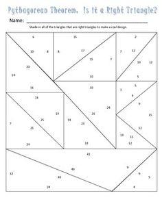 Pythagorean Theorem Math Lib  Math Activities And Product Math