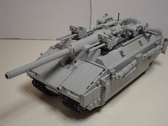 And to think, Hitler wanted to make this in real life. Lego Ww2, Lego Army, Lego Robot, Sci Fi Models, Lego Models, Arte Elemental, Lego Mechs, Cool Lego Creations, Lego Projects