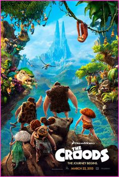 "DreamWorks ""The Croods"" Sneak Peek"