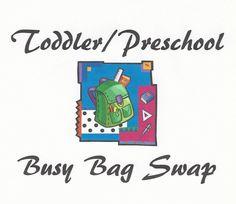 One Busy Mama and Teacher: Busy Bag Swap