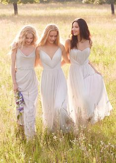 Jim Hjelm Occasions Bridesmaids and Special Occasion Dresses Style jh5561, jh5562 and jh5552 by JLM Couture, Inc.