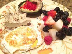 Pate De Fois Gras, Eggs, Berries, And Avocado With Caviar: 9/30/14