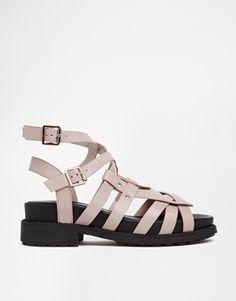 ASOS+FALLON+Multi+Strap+Sandals