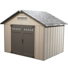 Homestyles�Premier Gable Storage Shed (Common: 10-ft x 10-ft; Interior Dimensions: 9.75-ft x 9.75-ft)