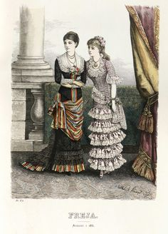 Freja - Illustrerad Skandinavisk Modetidning (Swedish) 1881