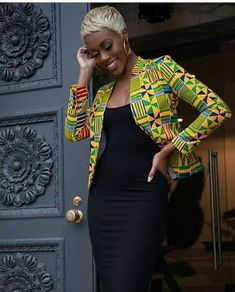 African Clothing/ Ankara Jacket/ Print/ Ankara print/ African Print - Women's style: Patterns of sustainability African Fashion Ankara, Latest African Fashion Dresses, African Dresses For Women, African Print Fashion, African Attire, African Women, Africa Fashion, African Outfits, African Print Top
