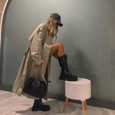 Winter Fashion Outfits, Fall Winter Outfits, Look Fashion, Autumn Fashion, Womens Fashion, Spring Outfits, Spring Fashion, Urban Fashion Girls, Looks Street Style
