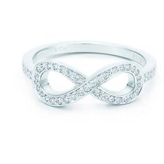 Tiffany Infinity Ring (€2.365) ❤ liked on Polyvore featuring jewelry, rings, accessories, bijoux, infinity jewelry, infinity ring, tiffany co jewellery, tiffany co rings and tiffany co jewelry