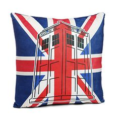 A little pillow to make the sofa you're hiding behind a little more Doctor Who-y.