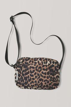 Tech Fabric Accessories Bag by Ganni Fashion Accessories, Crossbody Bag, Handbags, Fabric, Closure, Pocket, Shopping, Jewelry, Anna