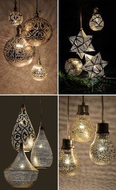 MAGICAL HANDMADE LIGHTS | THE STYLE FILES #MoroccanDecor