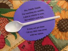 Weight loss spoon