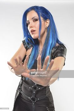 Portrait of Canadian musician Alissa White-Gluz, vocalist with Swedish death metal group Arch Enemy, photographed in London on April Get premium, high resolution news photos at Getty Images The Agonist, Alissa White, Women Of Rock, Arch Enemy, Gothic Rock, Metal Girl, Death Metal, Female Singers, India Beauty