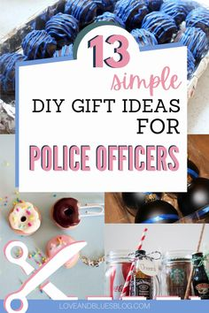 These are GREAT DIY gift ideas for police officers... seriously! I love DIY gifts and couldn't find any I liked for my officer husband. I want to try all these! Police Wife Life, Police Party, I Love Diy, Wife Humor, Police Academy, Easy Diy Gifts, Party Ideas, Gift Ideas, Practical Gifts